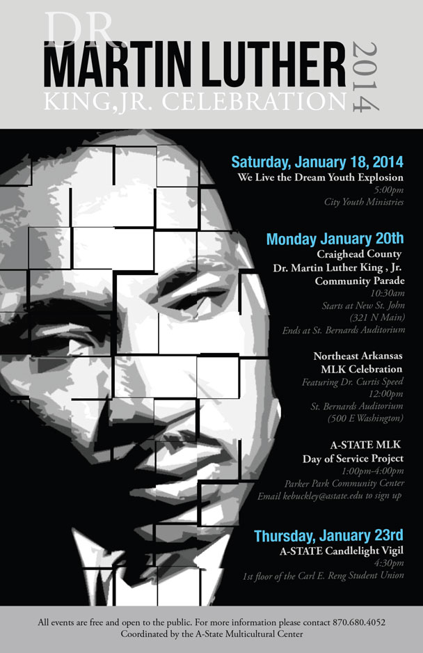 Dr. Martin Luther King Celebration Poster