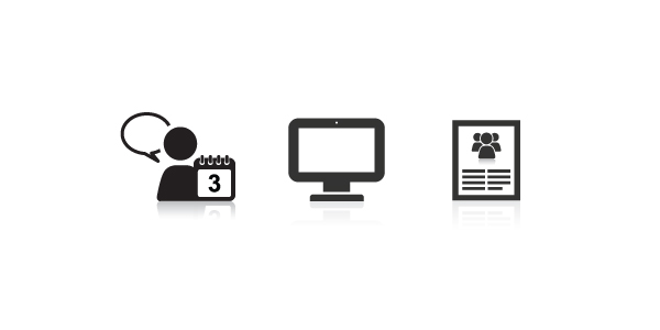 Publications & Creative Services Icon Set