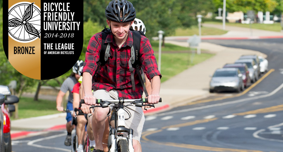 A-State named Bike Friendly