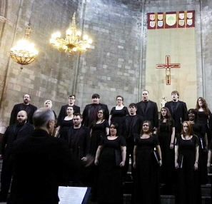 Miller Directs Choir Performance Tour in Spain
