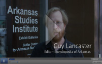 Screen shot of a video with Dr. Guy Lancaster