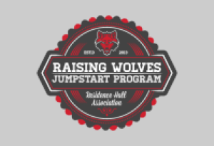 Raising Wolves logo