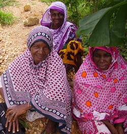 Women in Kanga