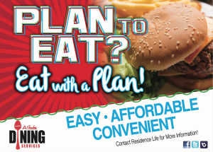 Dining meal Plan