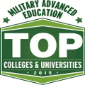 Military Advanced Education Top Colleges and Universities logo