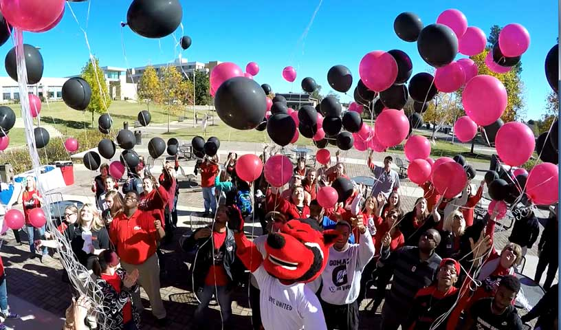 United Way Celebration Balloon Launch
