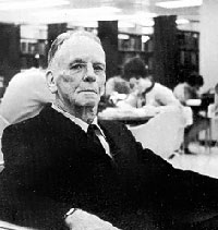 Dean B. Ellis in the Library