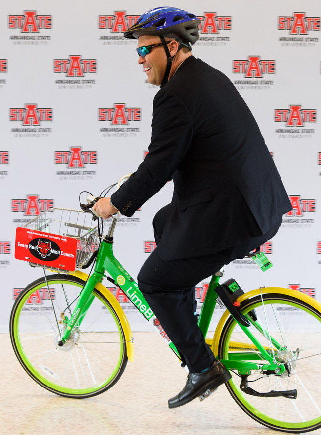 Bicycle Sharing Coming to A-State with LimeBike