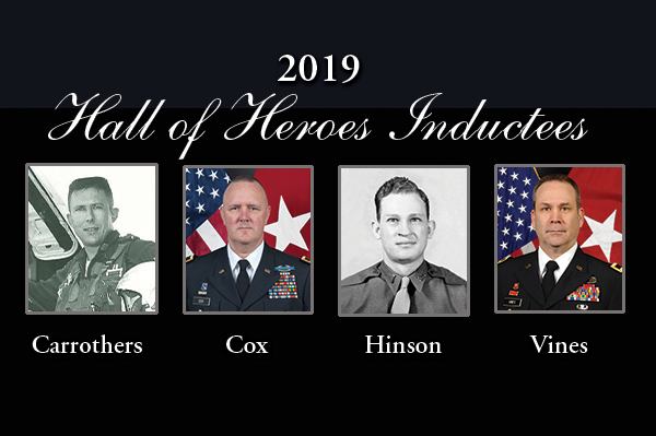 Four to Be Inducted Into 2019 ROTC Hall of Heroes