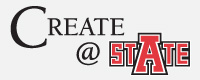 Create at State Logo