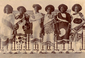 Servants of Princess Salma of Zanzibar