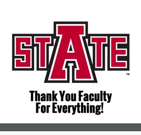What Faculty Mean to A-State Students