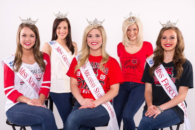 A-State Pageant Contestants